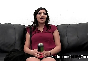 Mexican Babysitter'_s First Anal and Creampie