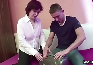 Mother Seduce Step-Son to Fuck her When dad Away