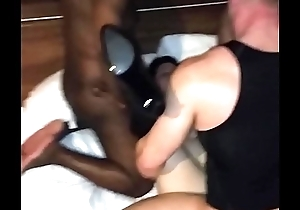 Took forever to talk her into her 1st gangbang but she loved it